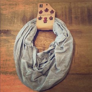 LAST ONE Fall Grey Infinity Scarf